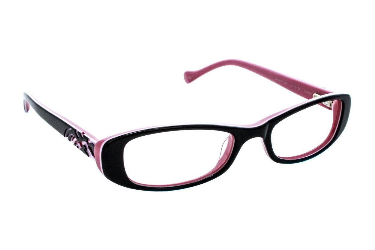 Lucky Spark Plug Eyeglasses - Black