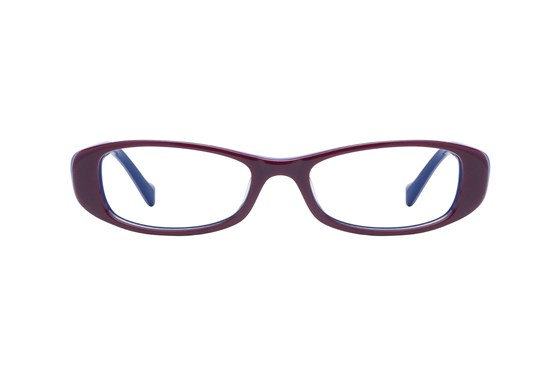 Lucky Spark Plug Purple Eyeglasses