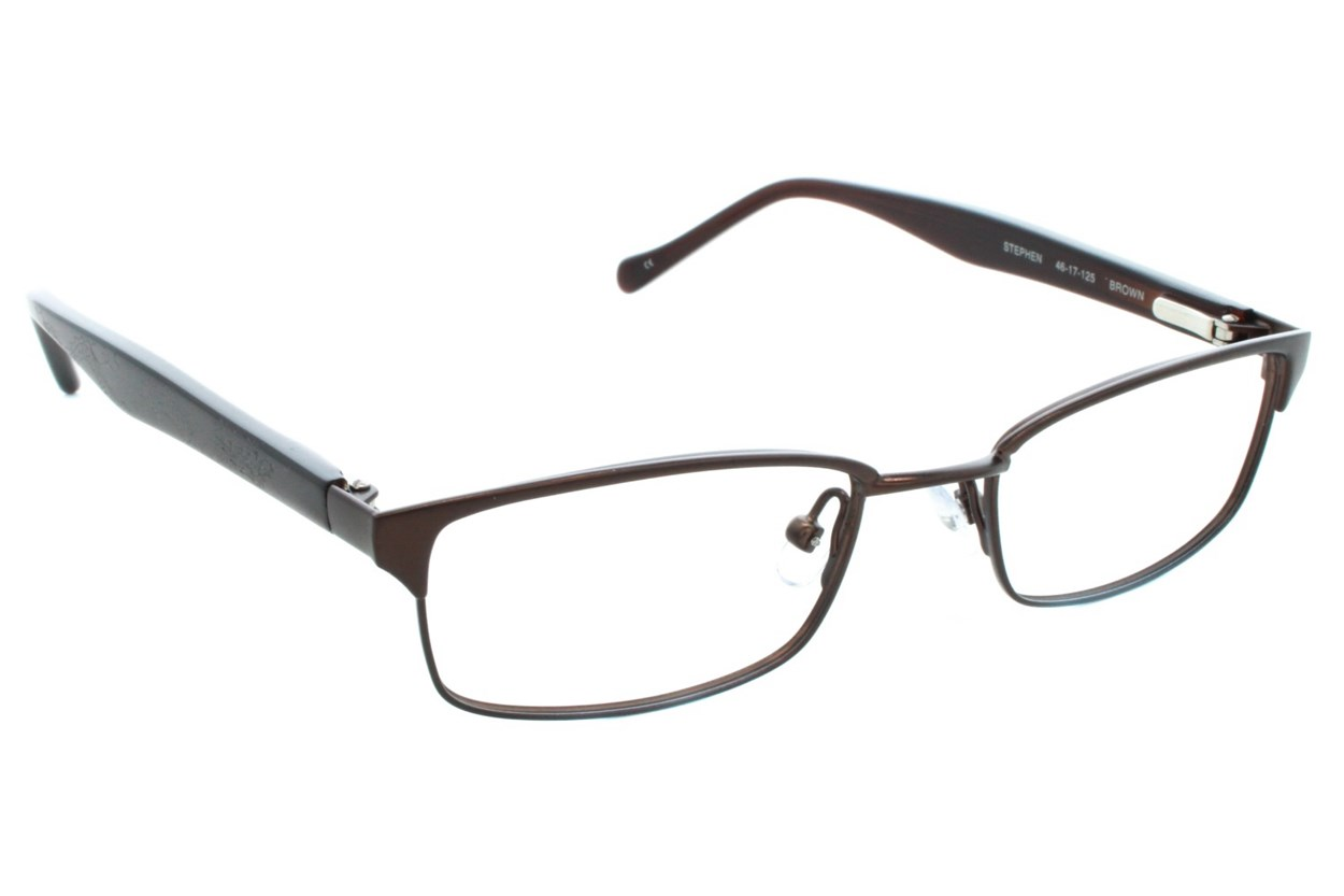 Lucky Stephen Small Brown Eyeglasses