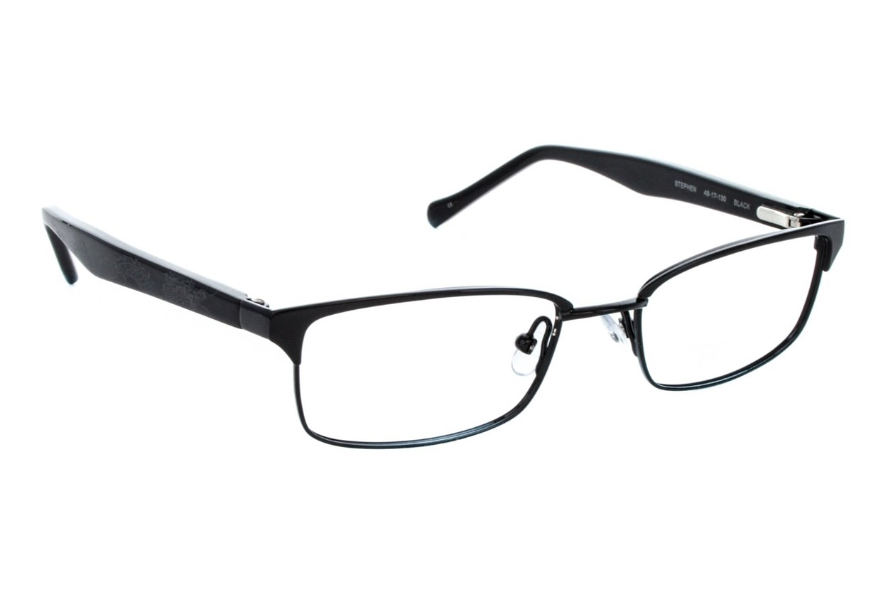 Lucky Stephen Small Black Eyeglasses