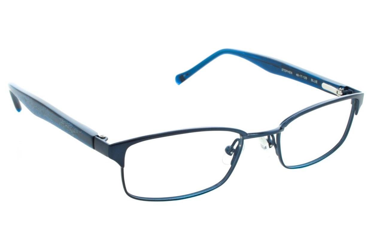 Lucky Stephen Small Blue Eyeglasses