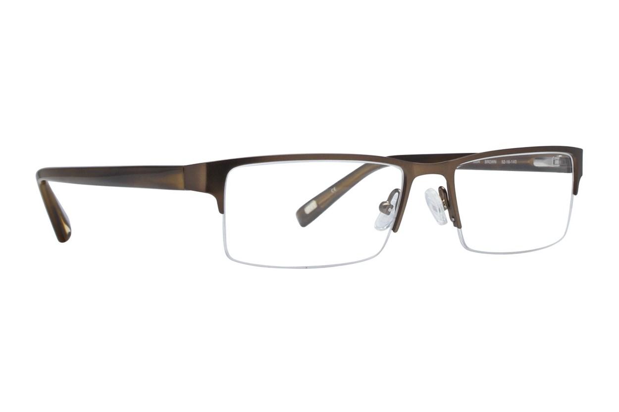 Jones NY J334 Brown Eyeglasses