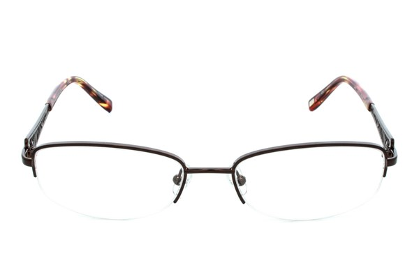Jones NY J460 Brown Eyeglasses