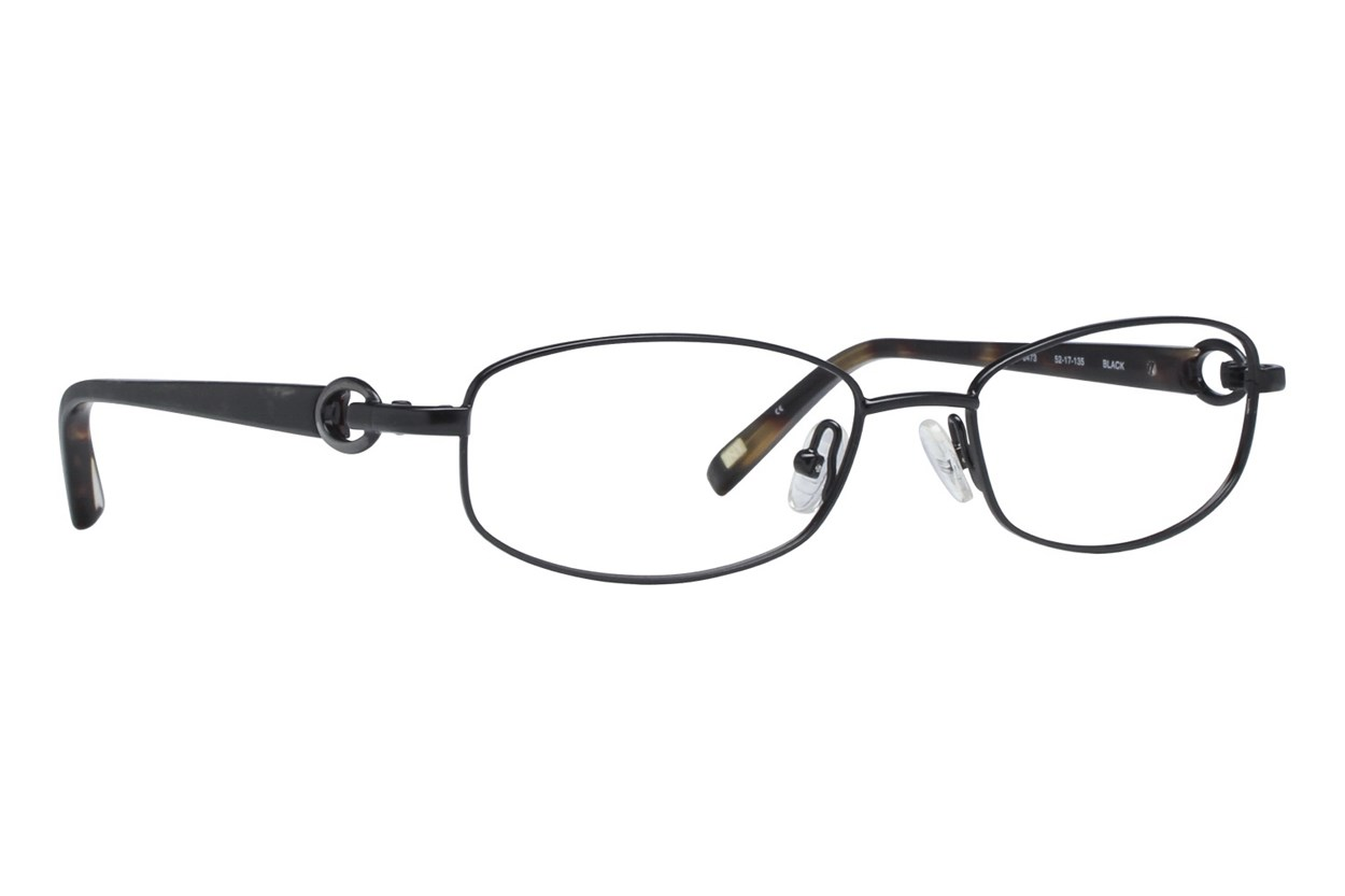 Jones NY J473 Black Eyeglasses