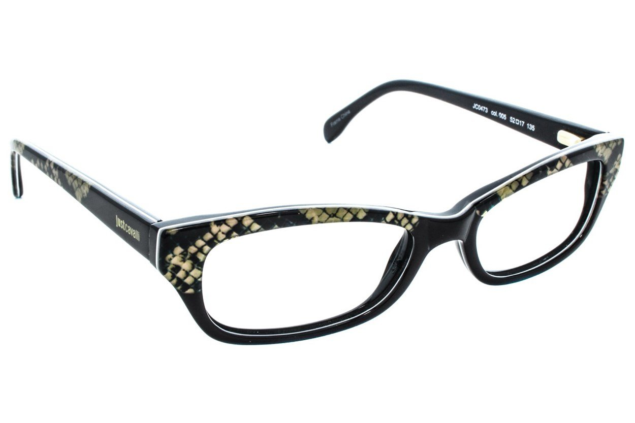 Just Cavalli JC0473 Black Eyeglasses