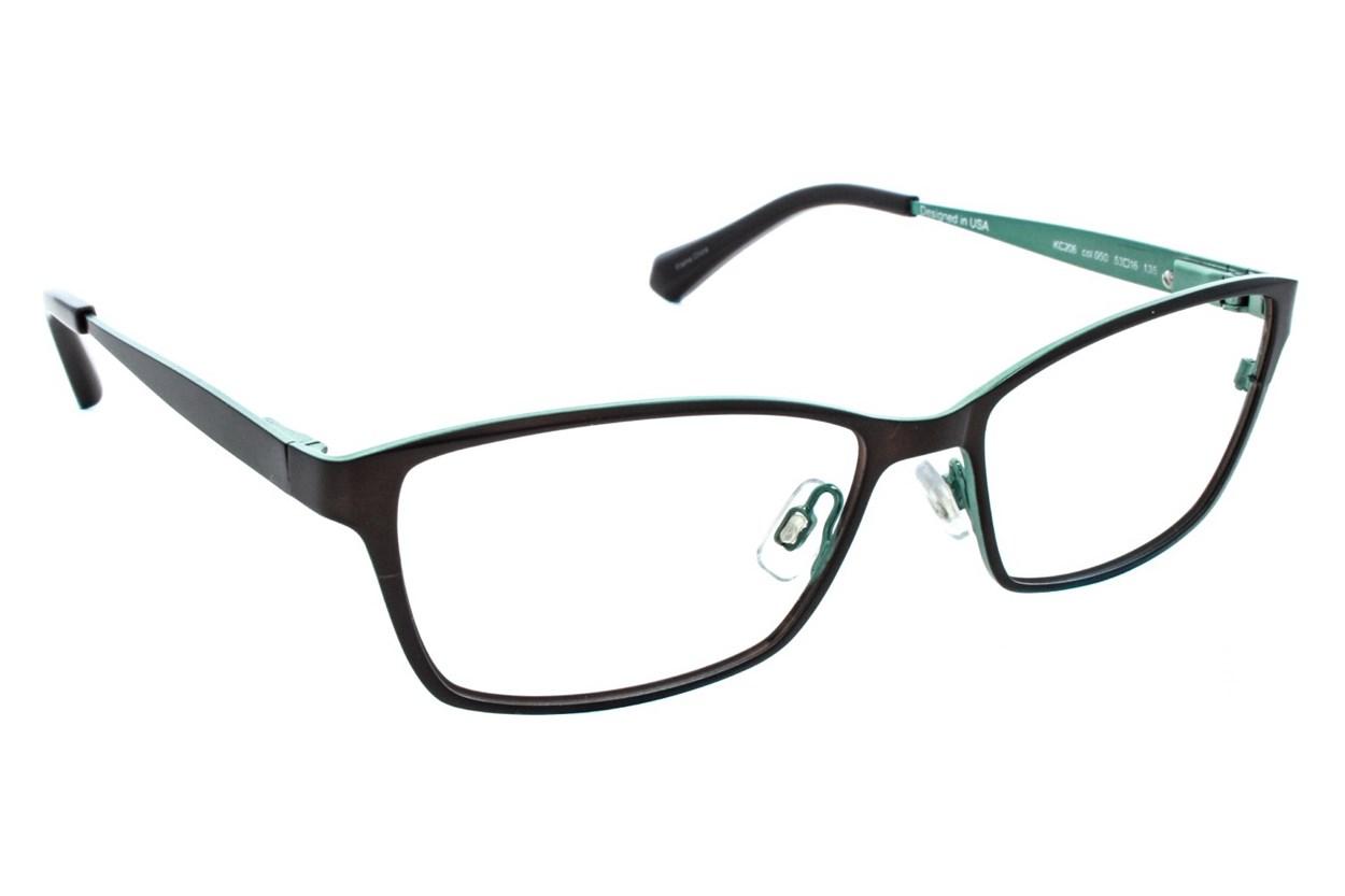 Kenneth Cole New York KC0206 Brown Eyeglasses