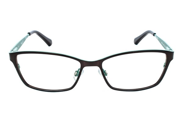 Kenneth Cole New York KC0206 Brown Eyeglasses