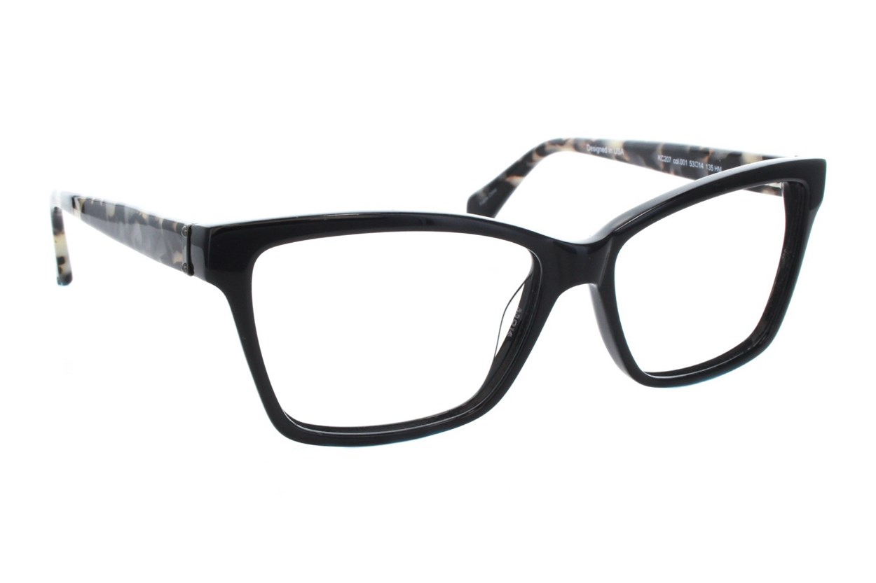 Kenneth Cole New York KC0207 Black Eyeglasses