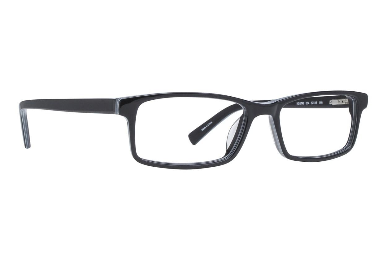 Kenneth Cole Reaction KC0749 Black Eyeglasses
