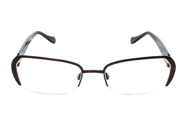 Max Studio 118M Brown Eyeglasses