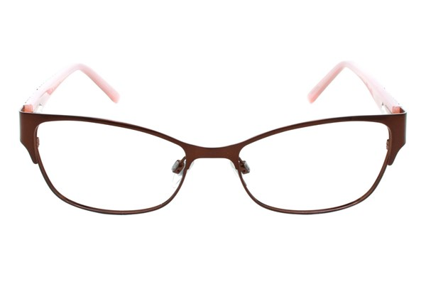Via Spiga Capricia Brown Eyeglasses
