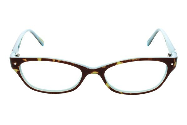 Via Spiga Rosaria Brown Eyeglasses