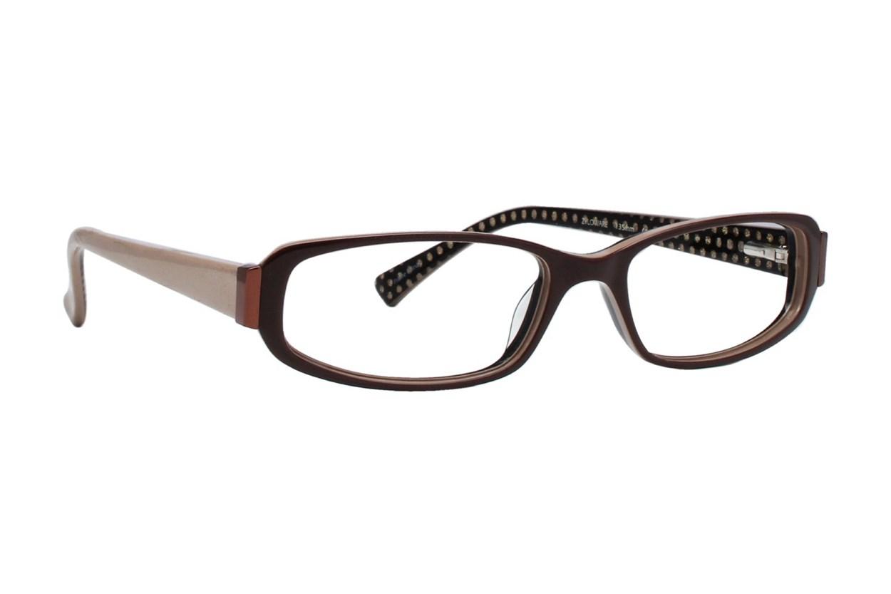 Via Spiga Scorze Brown Eyeglasses