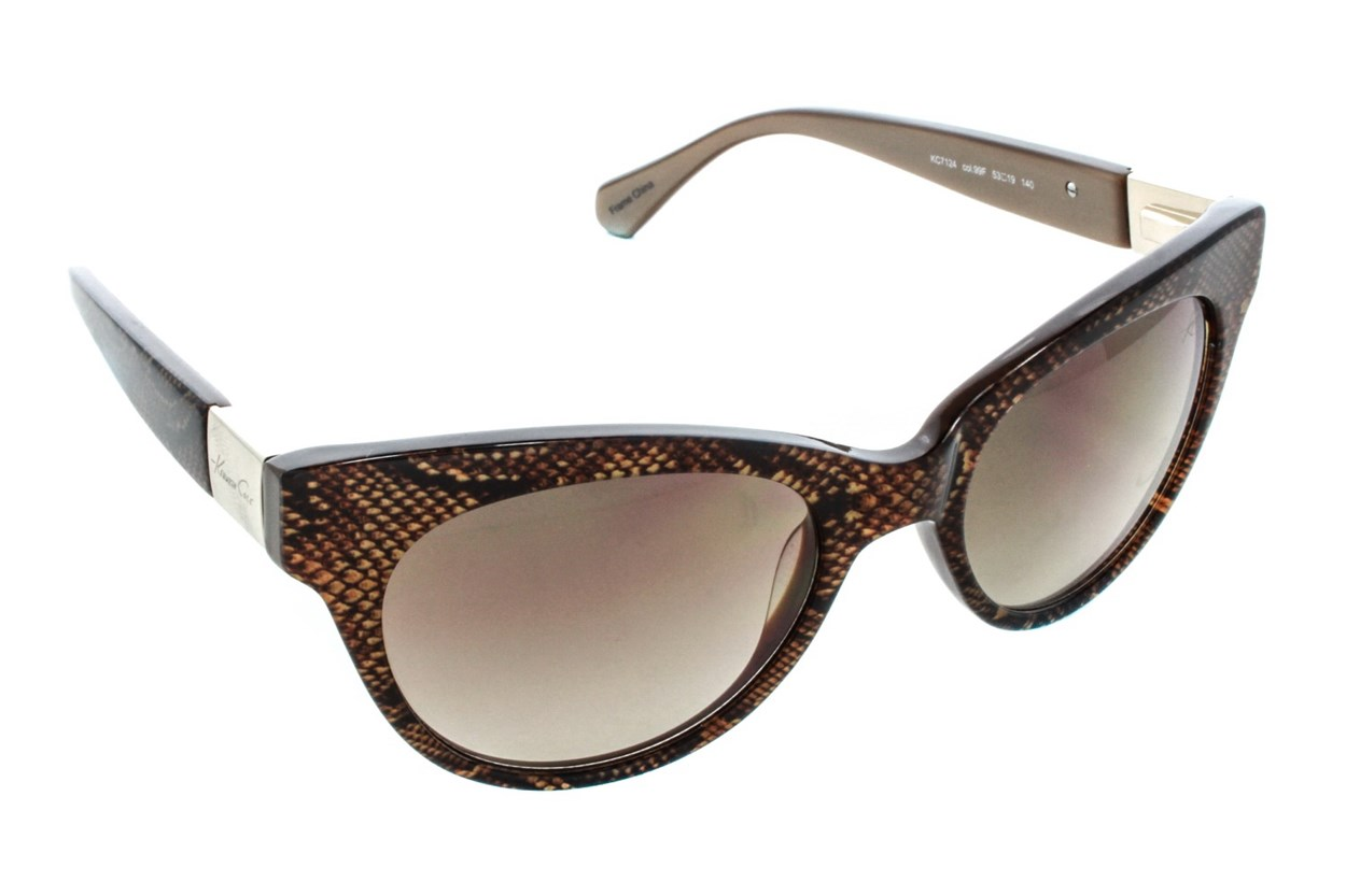 Kenneth Cole New York KC7124 Sunglasses - Brown