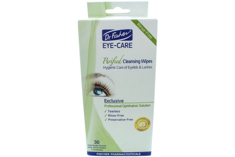Dr Fischer Preservative Free Eyelid Wipes