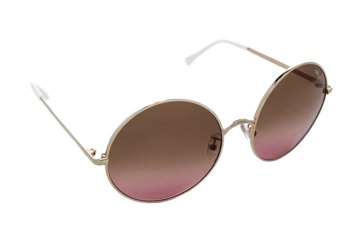 Velvet Eyewear Rose Sunglasses - Gold