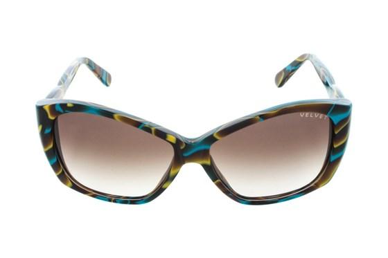 Velvet Eyewear Lucy Green Sunglasses