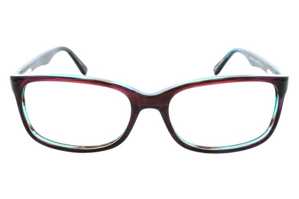 Dea Extended Size Angela Eyeglasses - Red