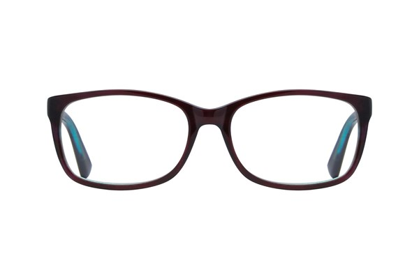 Dea Extended Size Angela Red Eyeglasses