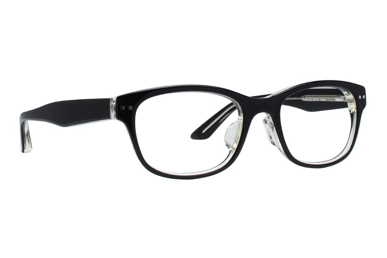 TC Charton Darcy Black Eyeglasses