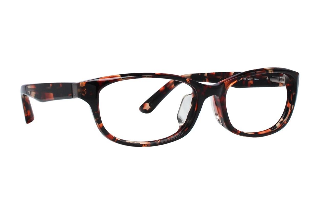 TC Charton Masen Orange Eyeglasses