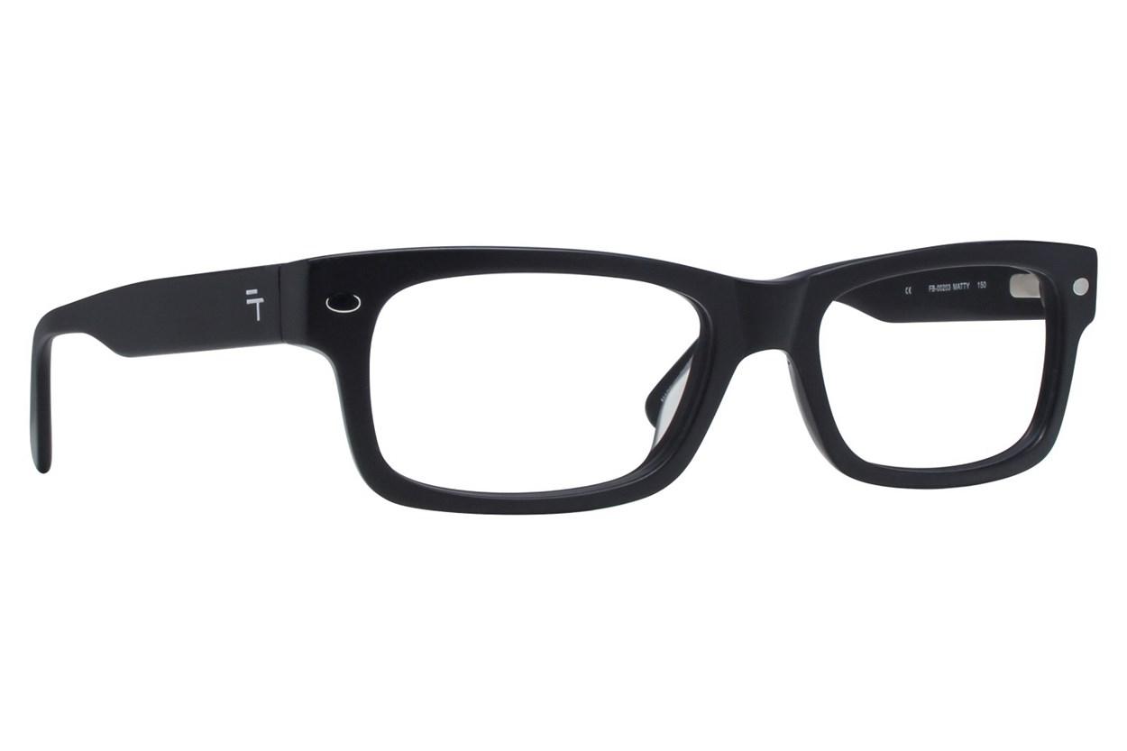 Fatheadz Matty XL Black Eyeglasses