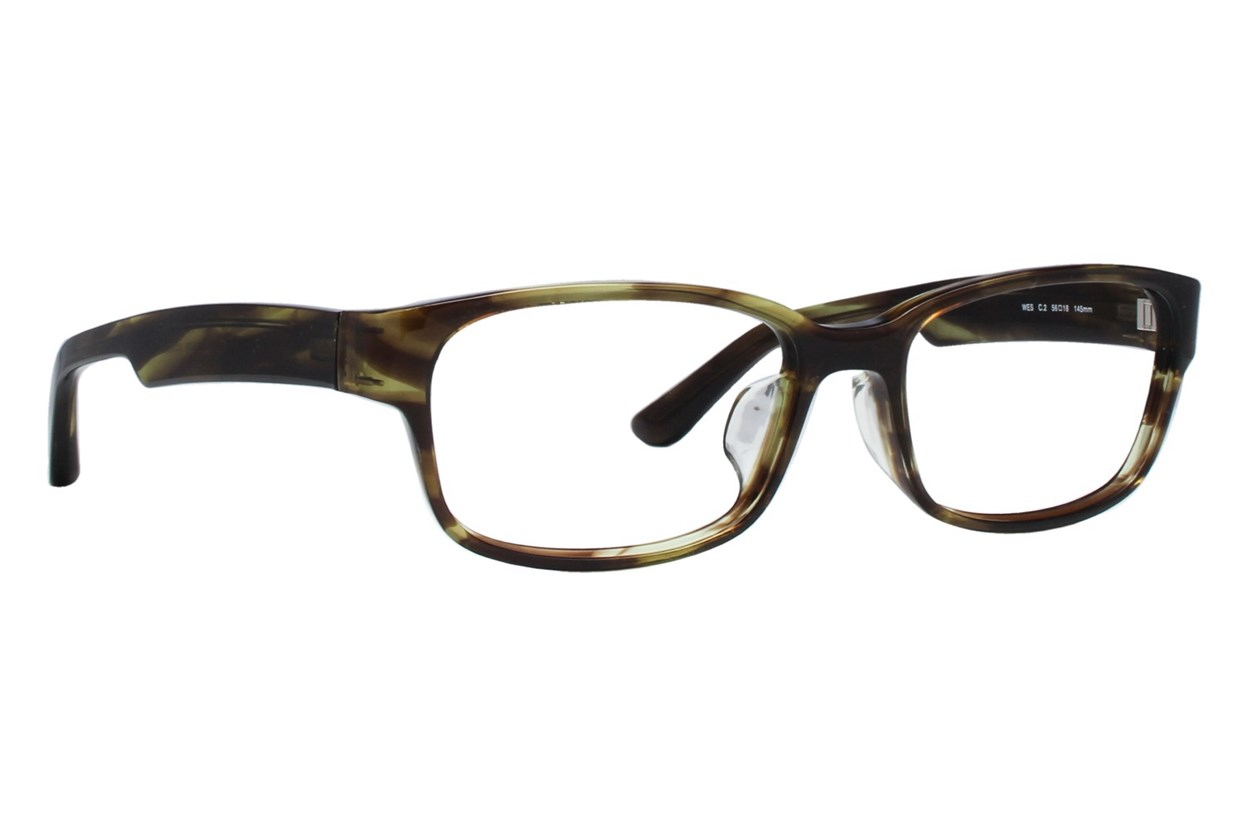 TC Charton Wes Brown Eyeglasses