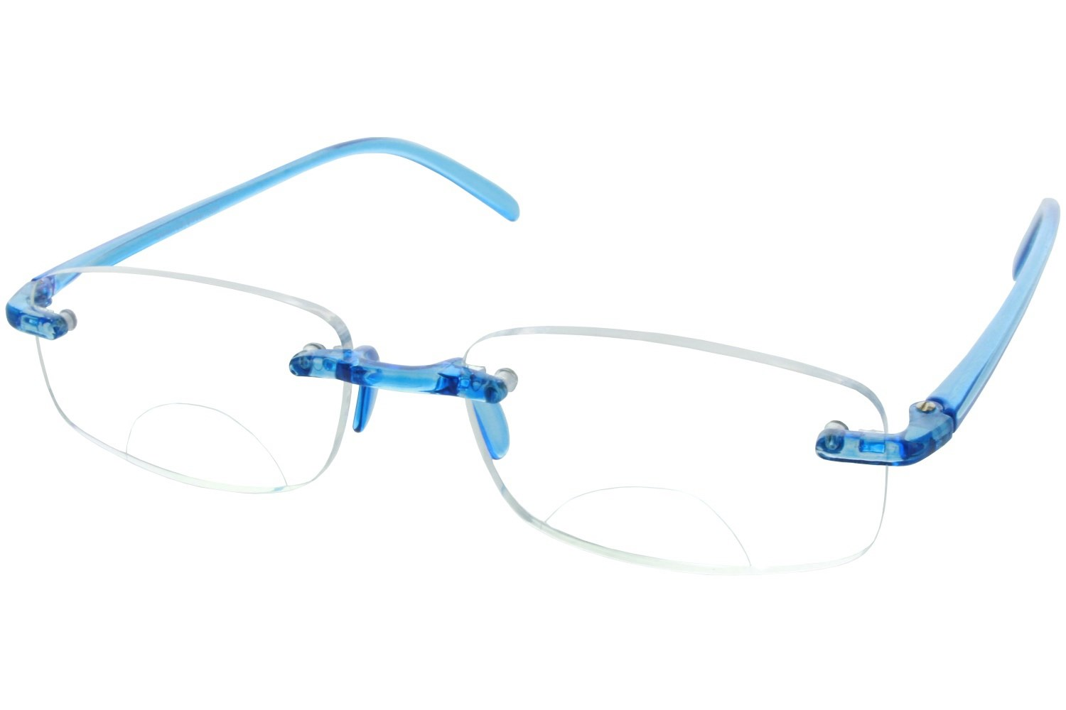 Rimless Bifocal Glasses : Computer Eyed Rimless Bifocal Reading Glasses ...