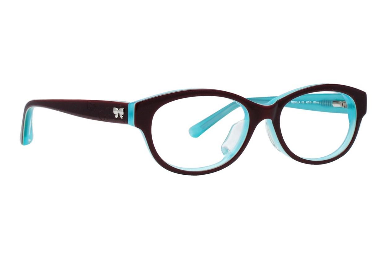 TC Charton Prescilla Turquoise Eyeglasses