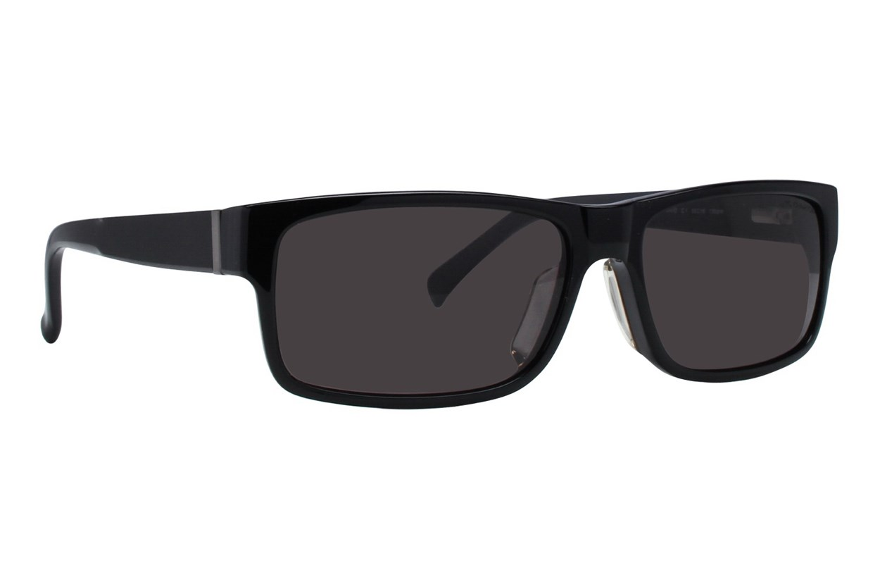 TC Charton David Black Sunglasses