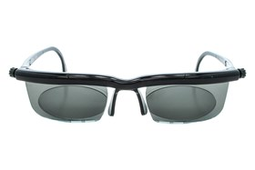 Adlens Sundials Adjustables Instant Prescription Sunglasses Black