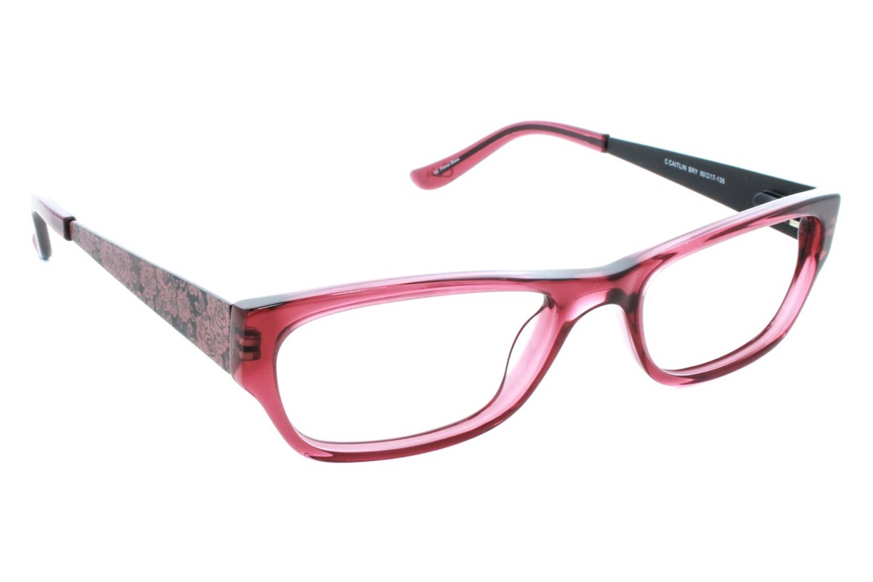 Candie's C Caitlin Eyeglasses - Red