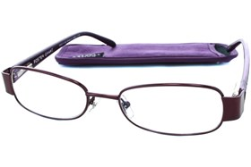 Foster Grant Crystal Vision Sugar Plum Reading Glasses Purple