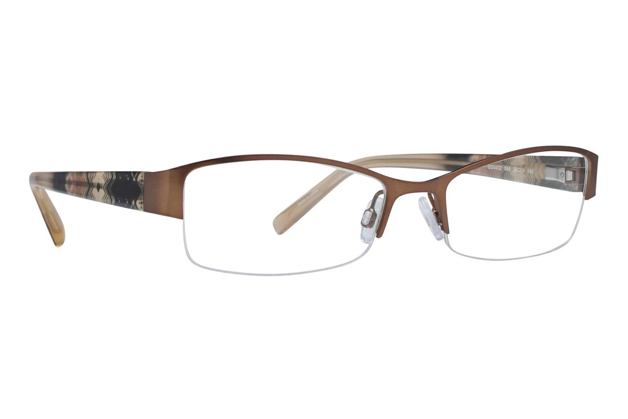 Covergirl CG0432 Brown Eyeglasses