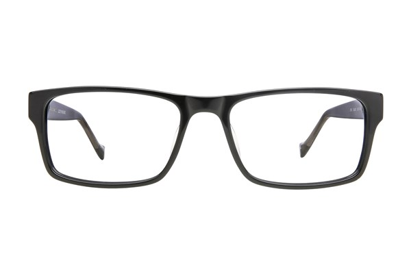 Lucky Dive Eyeglasses - Black