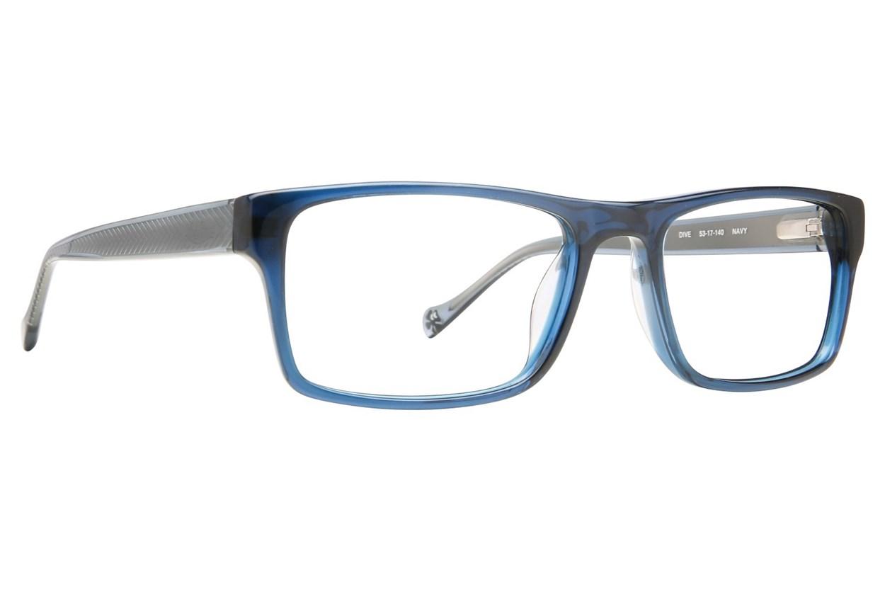 Lucky Dive Blue Eyeglasses