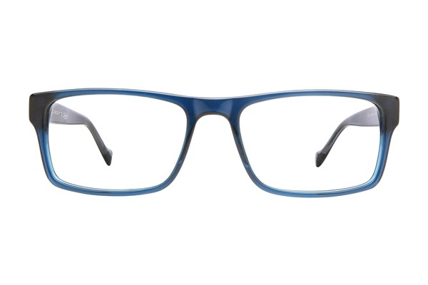 Lucky Dive Eyeglasses - Blue