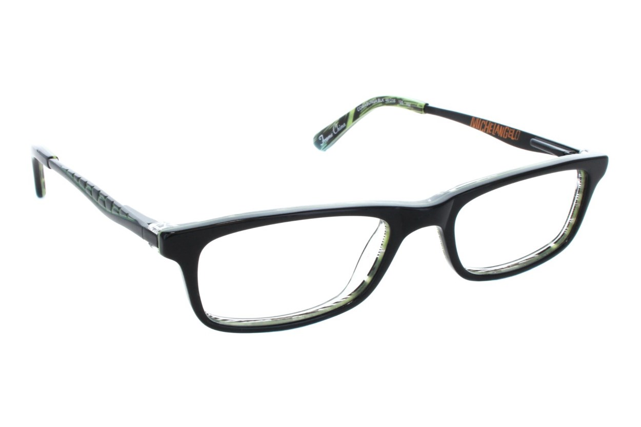 Nickelodeon Teenage Mutant Ninja Turtles Cowabunga Eyeglasses - Black