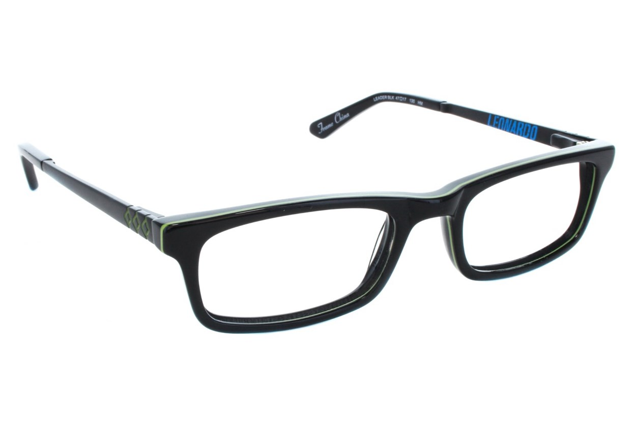Nickelodeon Teenage Mutant Ninja Turtles Leader Black Eyeglasses