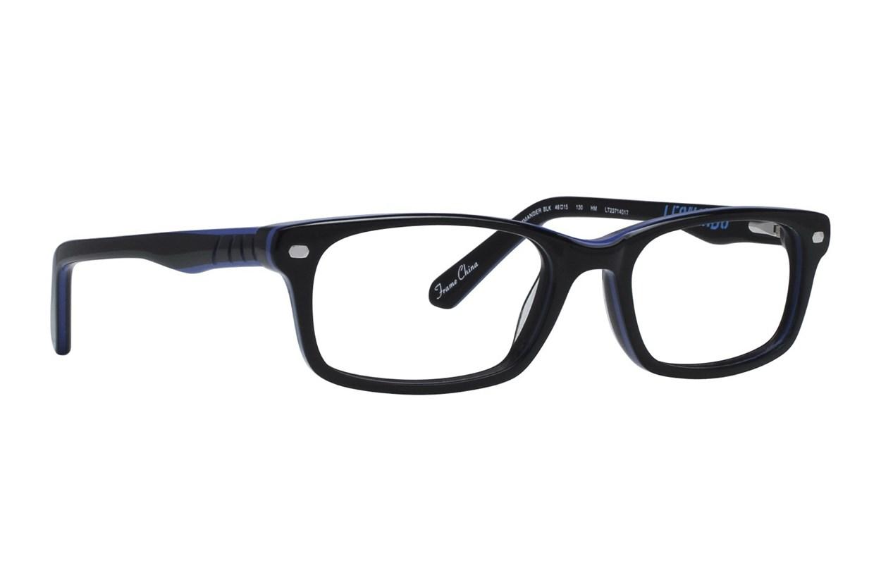 Nickelodeon Teenage Mutant Ninja Turtles Commander Black Eyeglasses