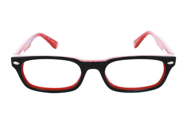 Nickelodeon SpongeBob SquarePants OB46 Red Eyeglasses