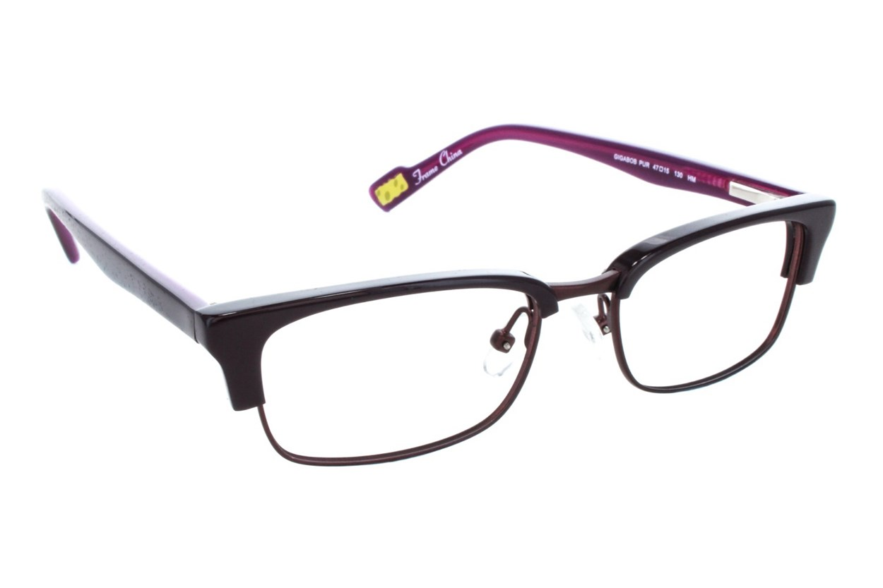 Nickelodeon SpongeBob SquarePants Gigabob Purple Eyeglasses