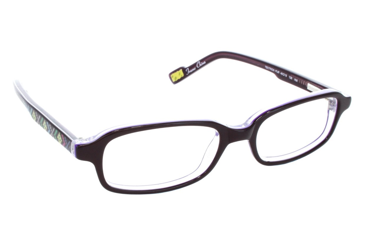 Nickelodeon SpongeBob SquarePants Tectron Purple Eyeglasses
