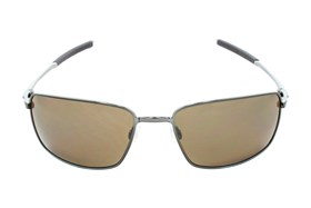 Oakley Square Wire Iridium Polarized Gold