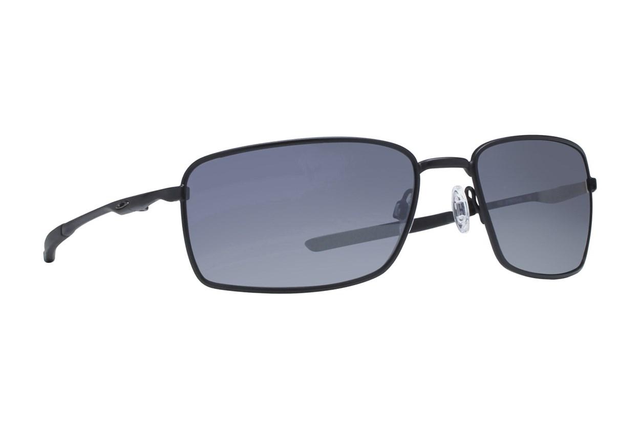 Oakley Square Wire Iridium Polarized Black Sunglasses