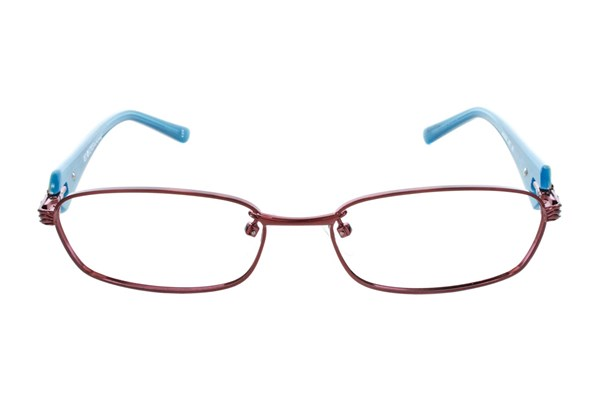 Red Lotus 201m Red Eyeglasses