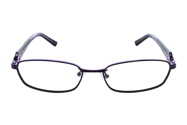 Red Lotus 201m Black Eyeglasses