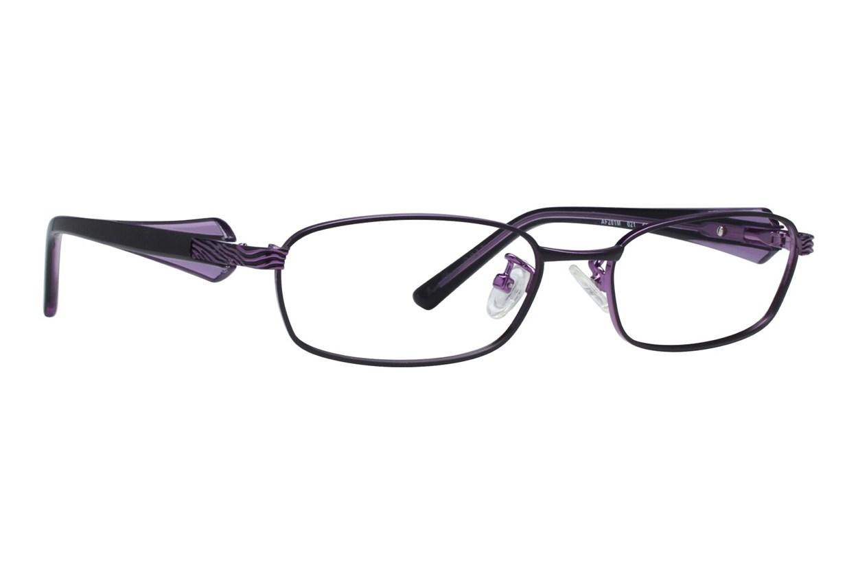 Red Lotus 201m Black Eyeglasses