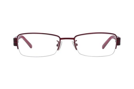 Red Lotus 203m Red Eyeglasses