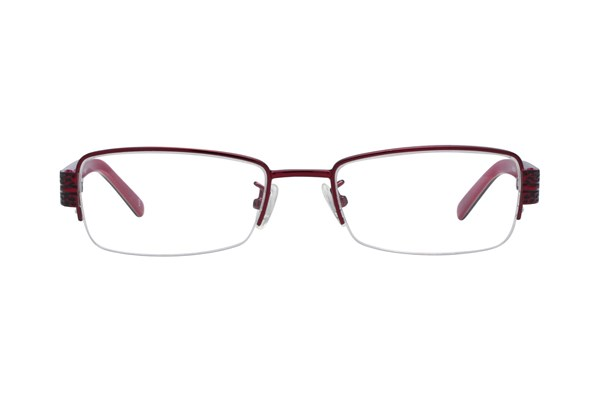 Red Lotus 203m Red Eyeglasses